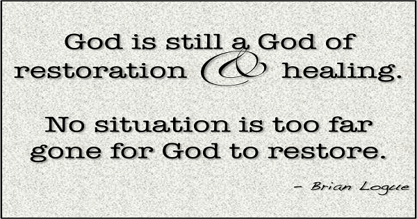 Bible Verses On Restoration | 101 Powerful Affirmations